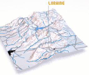 3d view of Loraine