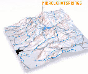 3d view of Miracle Hot Springs