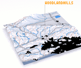 3d view of Woodland Hills