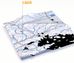 3d view of Cavin