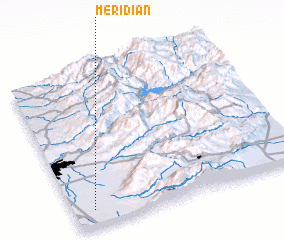 3d view of Meridian