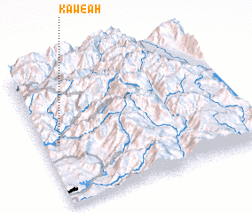 3d view of Kaweah