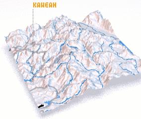 3d view of Kaweah