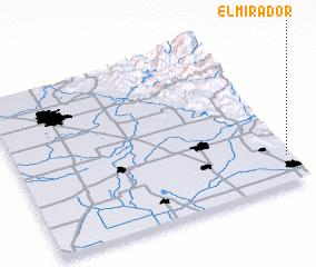 3d view of El Mirador