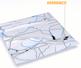 3d view of Kennewick