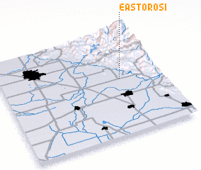 3d view of East Orosi