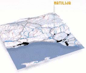 3d view of Matilija