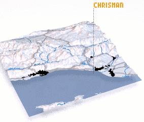 3d view of Chrisman