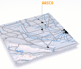 3d view of Wasco
