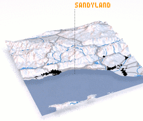 3d view of Sandyland