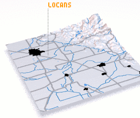 3d view of Locans