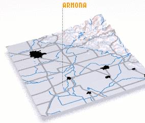 3d view of Armona