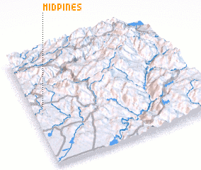 3d view of Midpines