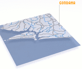 3d view of Gondama