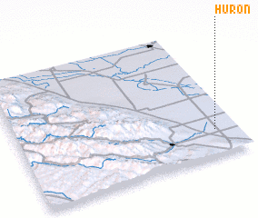 3d view of Huron