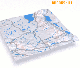3d view of Brooks Mill