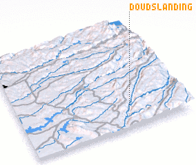 3d view of Douds Landing