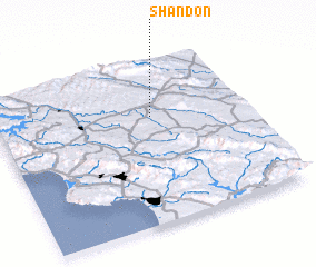 3d view of Shandon