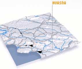 3d view of Huasna