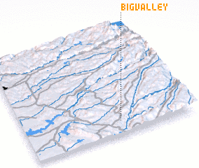 3d view of Big Valley