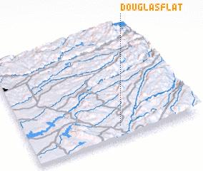 3d view of Douglas Flat