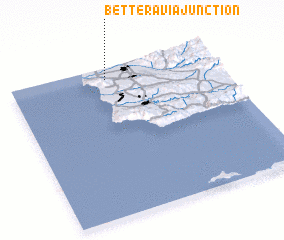 3d view of Betteravia Junction
