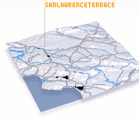 3d view of San Lawrence Terrace