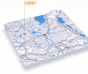 3d view of Canby