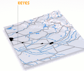 3d view of Keyes