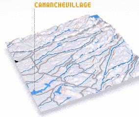 Camanche Village United States USA map nonanet