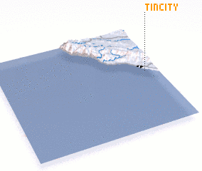 3d view of Tin City