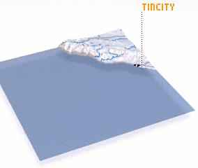 3d view of Tin City