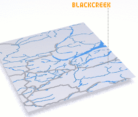 3d view of Black Creek