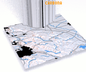 3d view of Carbona