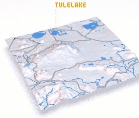 3d view of Tulelake