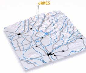 3d view of James