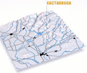 3d view of East Arboga