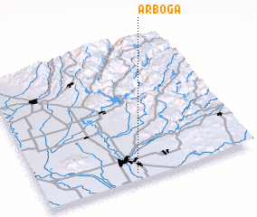 3d view of Arboga