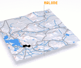 3d view of Malone