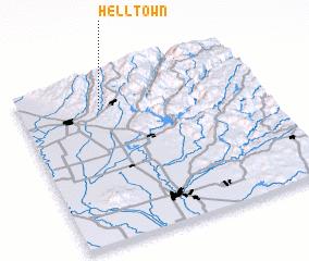 3d view of Helltown