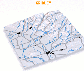 3d view of Gridley