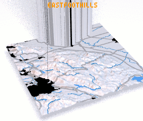 3d view of East Foothills