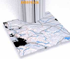 3d view of Berryessa