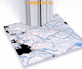 3d view of Robertsville