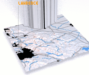 3d view of Lawrence