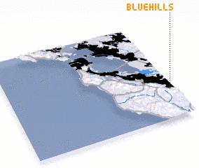 3d view of Blue Hills