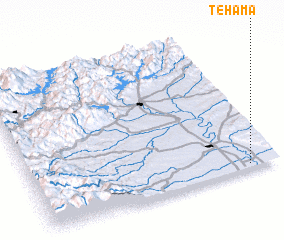 3d view of Tehama