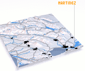 3d view of Martinez