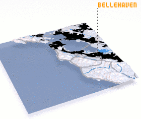 3d view of Belle Haven