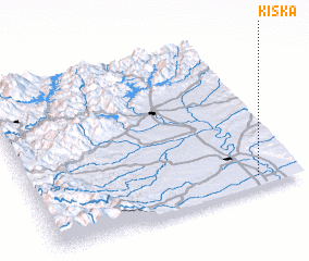 3d view of Kiska